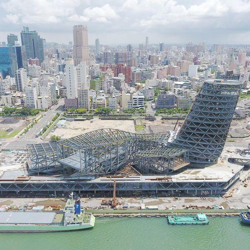 甲級營造公司,建築,春源鋼鐵,建築資訊模型,BIM